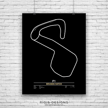 Brands Hatch Race Circuit Print
