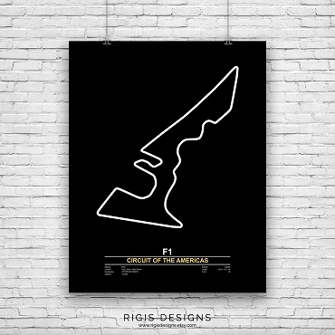 Circuit of the Americas Print