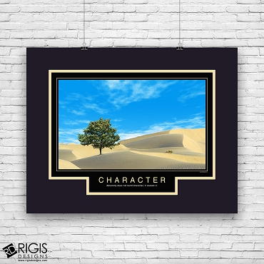 Character Motivational Poster