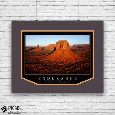 Endurance Motivational Poster