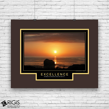 Excellence Motivational Poster