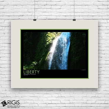 Liberty Spiritual Motivational Poster