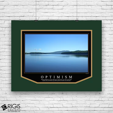 Optimism Motivational Poster