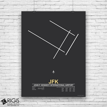 John F. Kennedy International Airport (JFK) Print