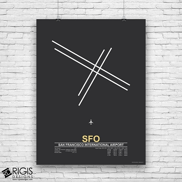 San Francisco International Airport (SFO) Print