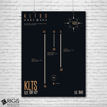 Altus Air Force Base (KLTS) Print