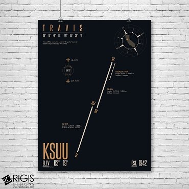 Travis Air Force Base (KSUU) Print