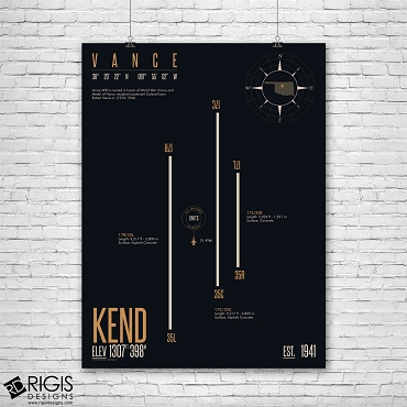 Vance Air Force Base (KEND) Print